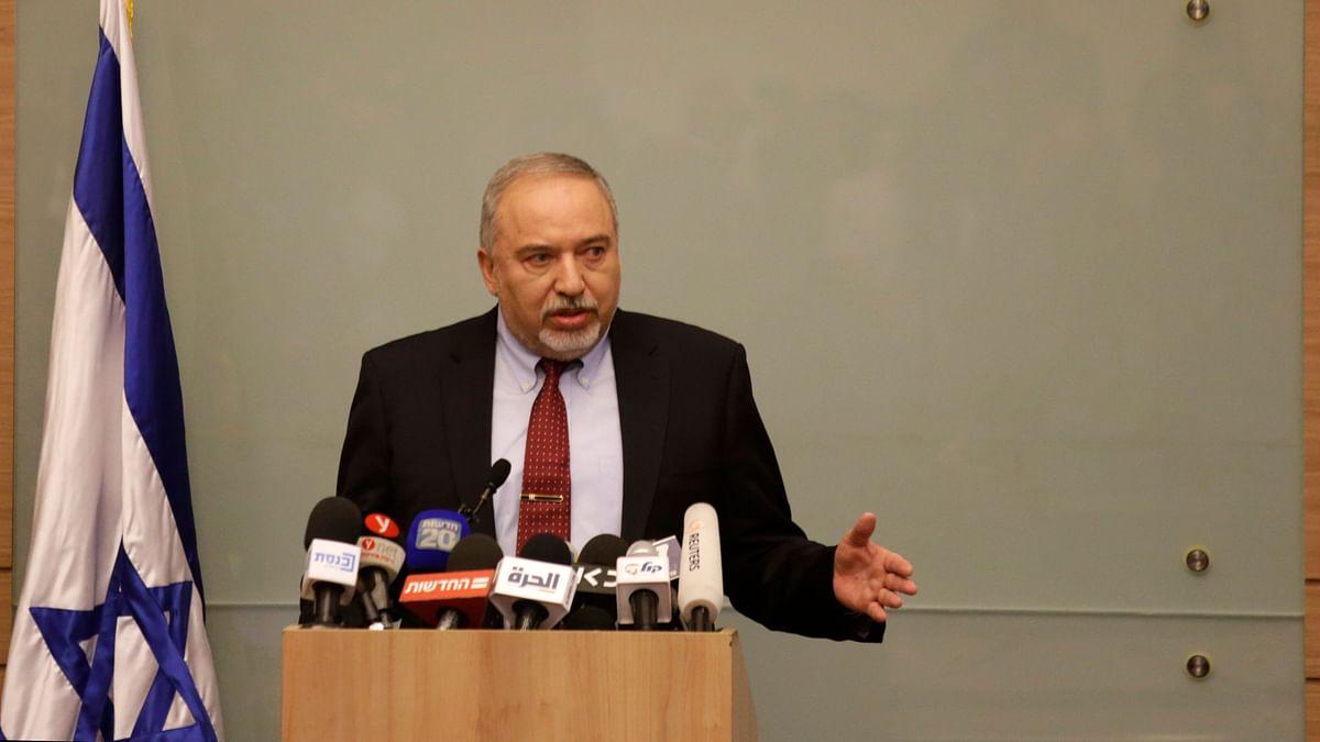 Photo of Israel's defense minister Avigdor Lieberman used for representation.
