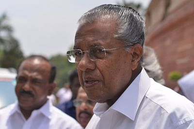 Kerala Chief Minister Pinarayi Vijayan. (Photo: IANS)