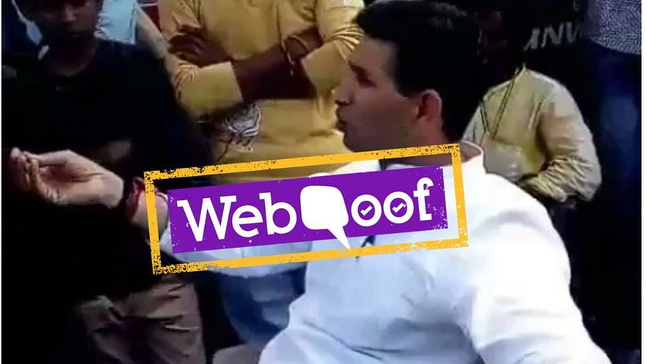 BJP Mumbai spokesperson Suresh Nakhua's tweet claimed that INC MLA Patwari said that Congress bribed people to vote.