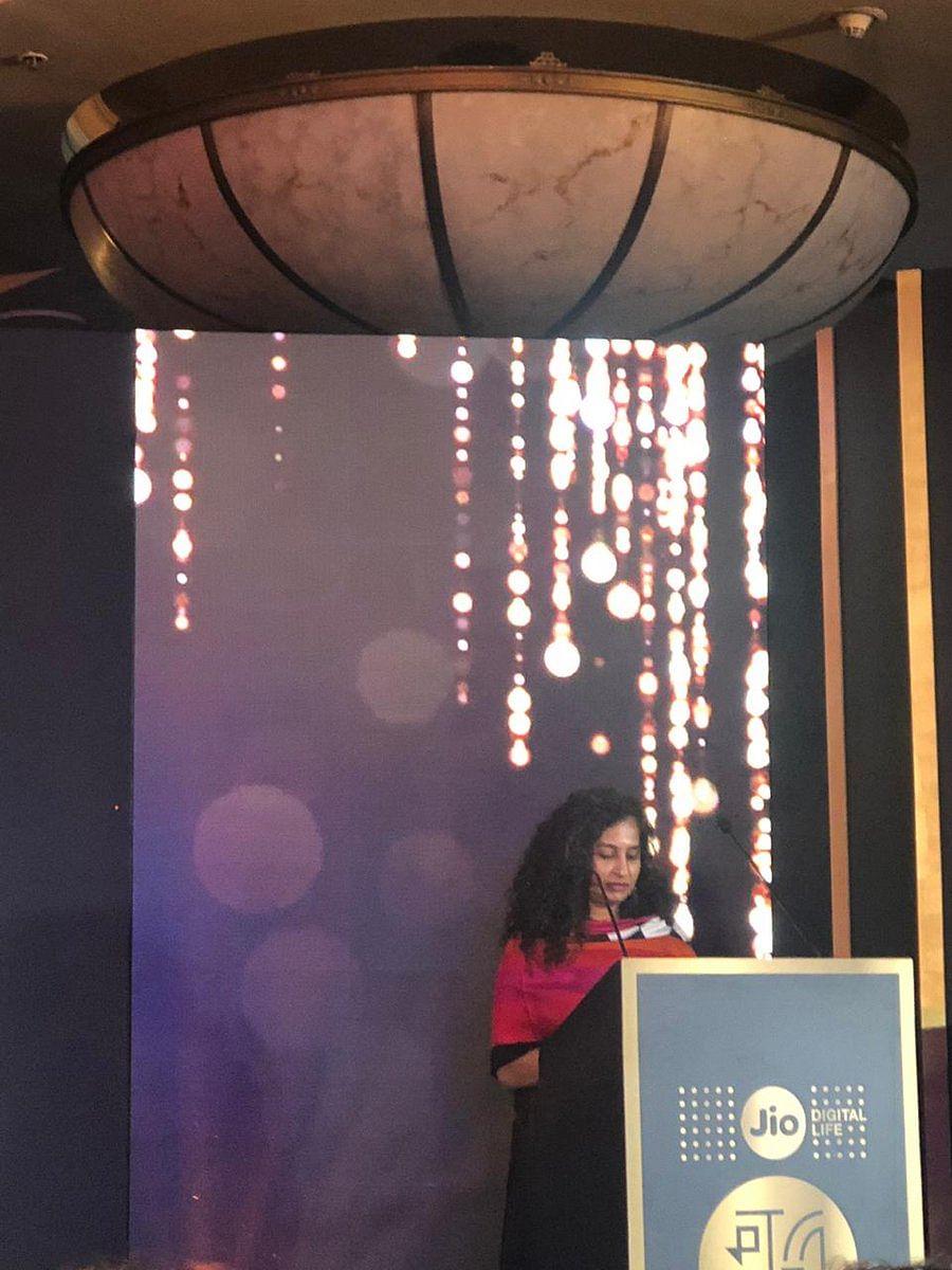 Gauri Shinde paying tribute to Sridevi
