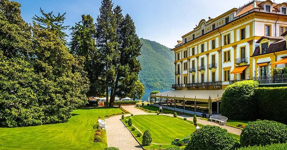 The Villa d'Este is a popular hotel that dates back to the 16th century.