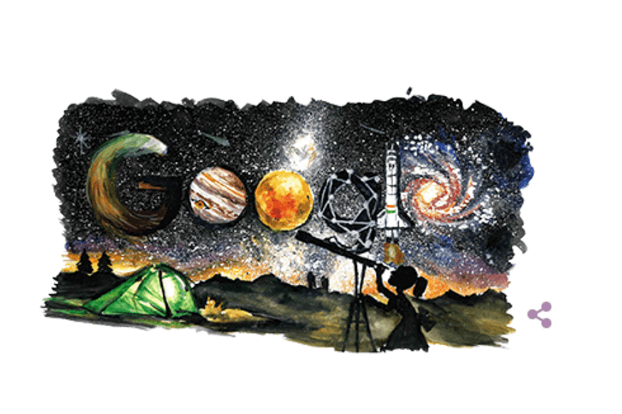 The doodle won over 300,000 votes.