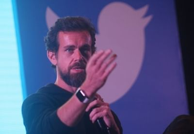 """New Delhi: Twitter Co-founder and CEO Jack Dorsey addresses the students of IIT Delhi at the launch of a """"youth initiative"""" on Nov 12, 2018. (Photo: IANS)"""