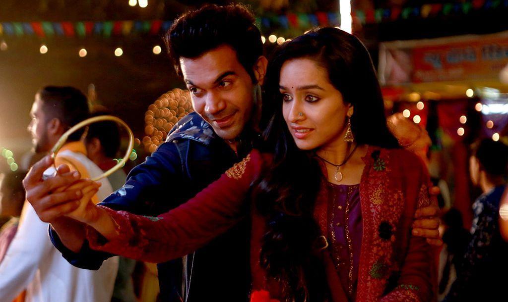 Rajkummar Rao and Shraddha Kapoor in the sleeper hit&nbsp;<i>Stree.</i>