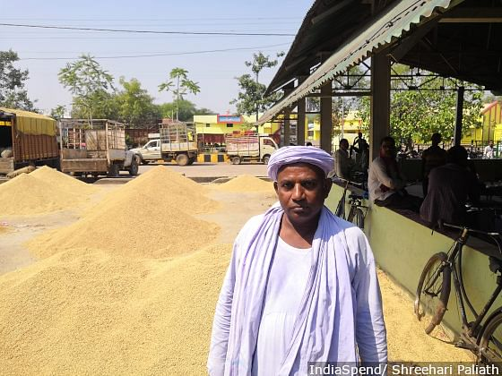Swadesh Tikam, a farmer leader in CM Raman Singh's constituency of Rajnandgaon in Chhattisgarh, said farmers are unhappy with the government's policies and there have been nearly 100 farmer protests since the last election.