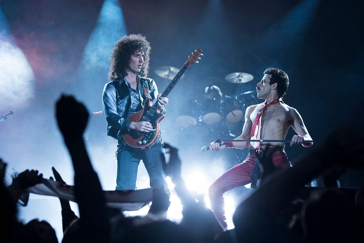 A still from <i>Bohemian Rhapsody</i>.