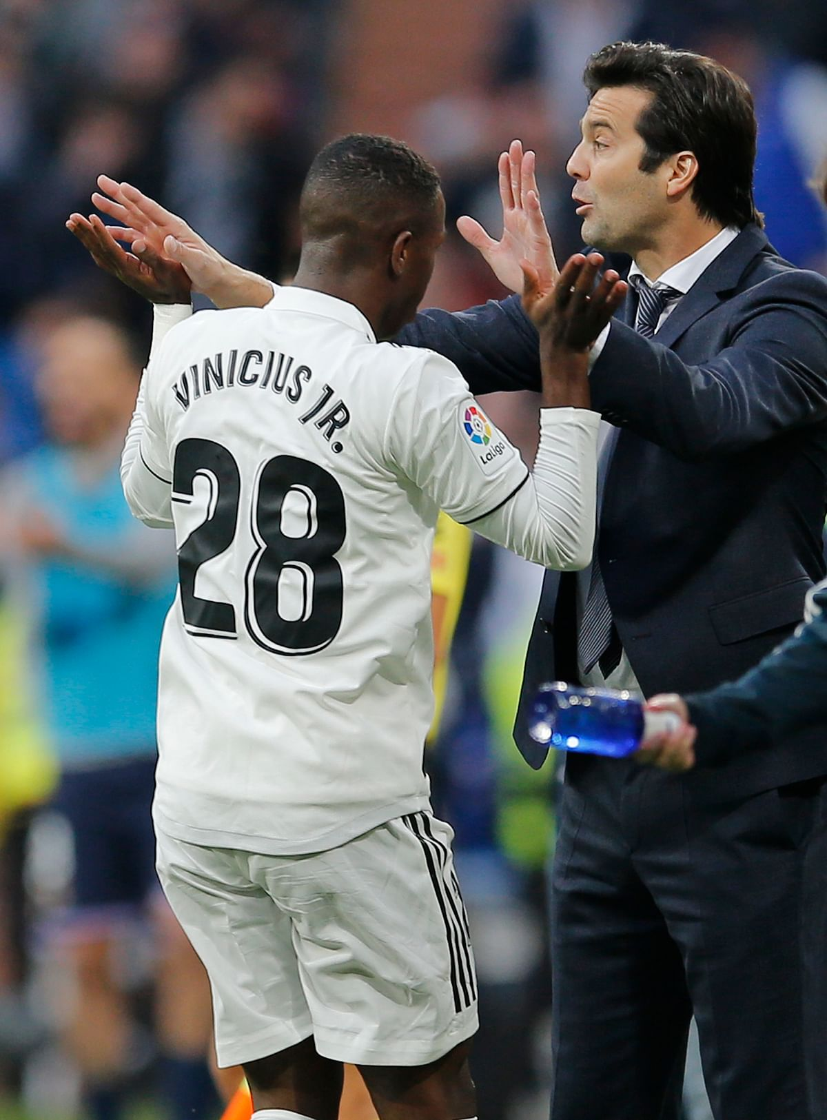 18-year-old Brazilian Vinicius Jr. has thrived with more game-time under Solari at Real