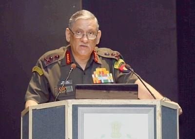 Army Staff Chief General Bipin Rawat. (Photo: IANS/PIB)