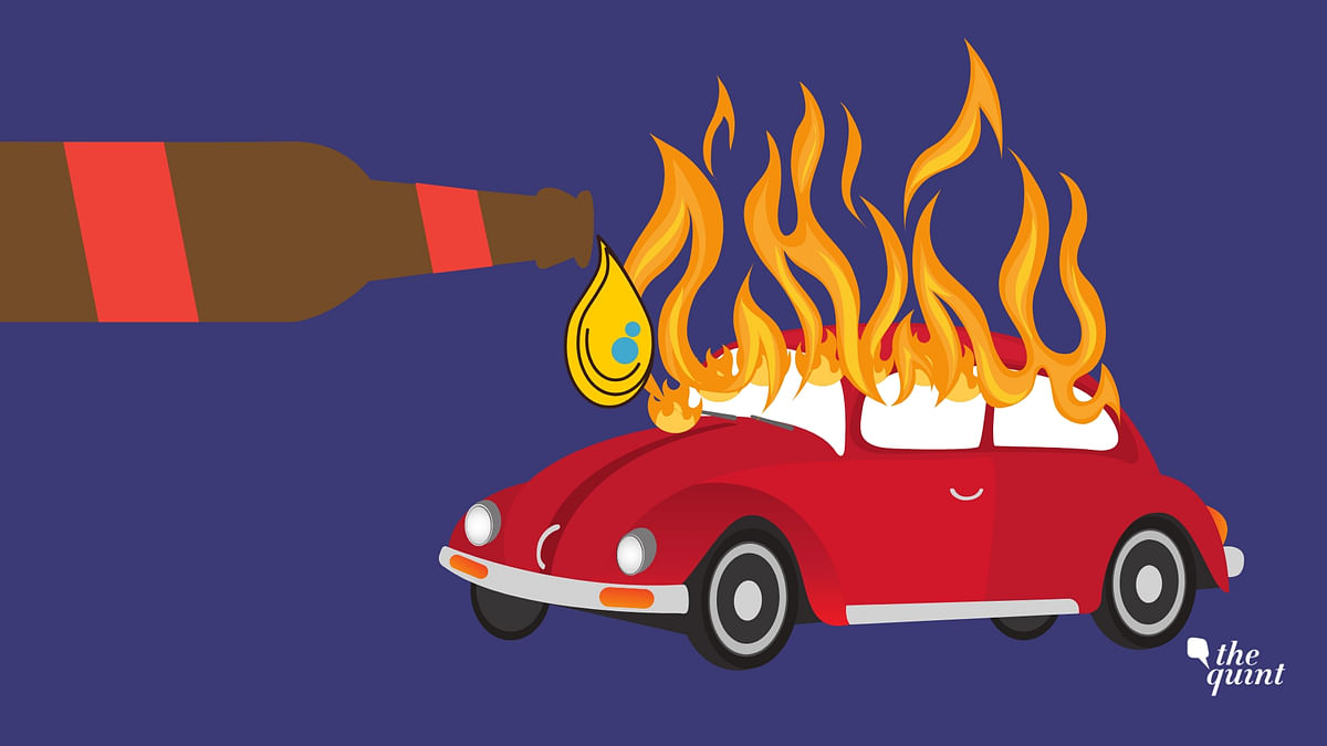 A drunk man reportedly set 18 vehicles, including four cars, on fire in south Delhi's Madangir area on Tuesday, 6 November.