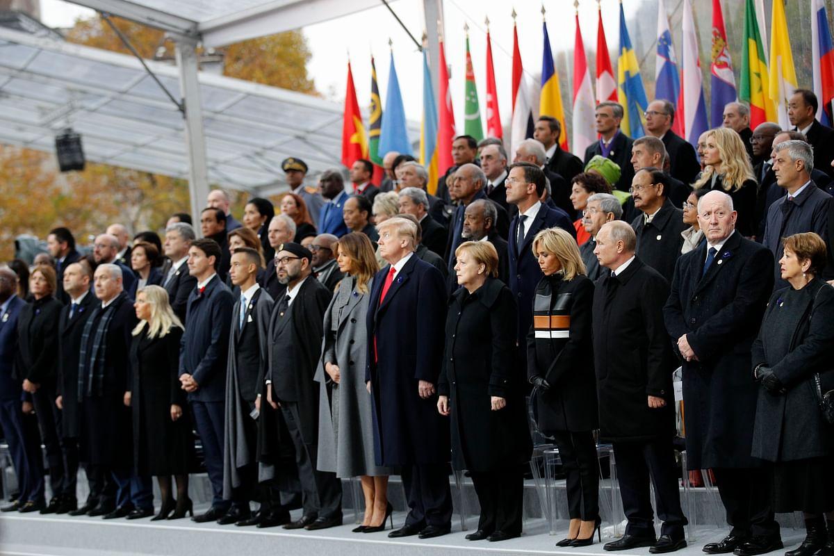 World Leaders Gather in Paris a Century After WWI Armistice