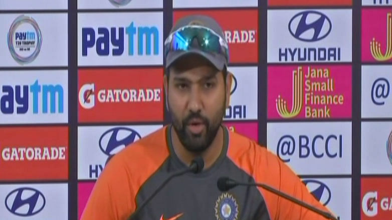 Dhoni's Absence an Opportunity for Rishabh Pant: Rohit Sharma