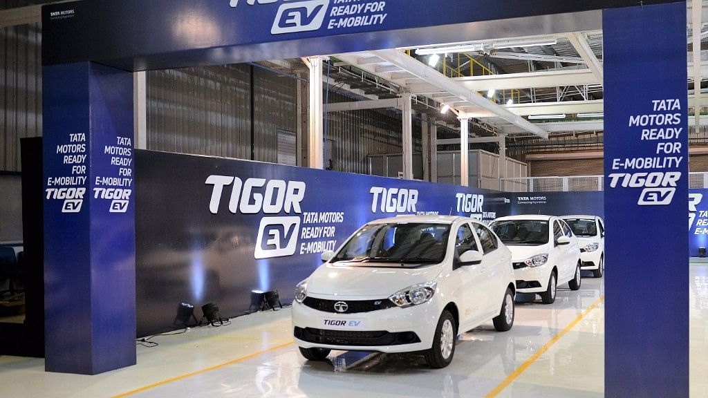 The Tata Tigor EV is priced at Rs 12 lakh.