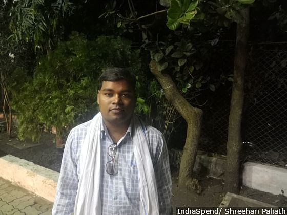 Gajendra Singh Koshle in Arang in Raipur district has a Rs 26 lakh loan for his paddy farm. His loans include those taken for weddings, buying a tractor, and repaying existing loans.