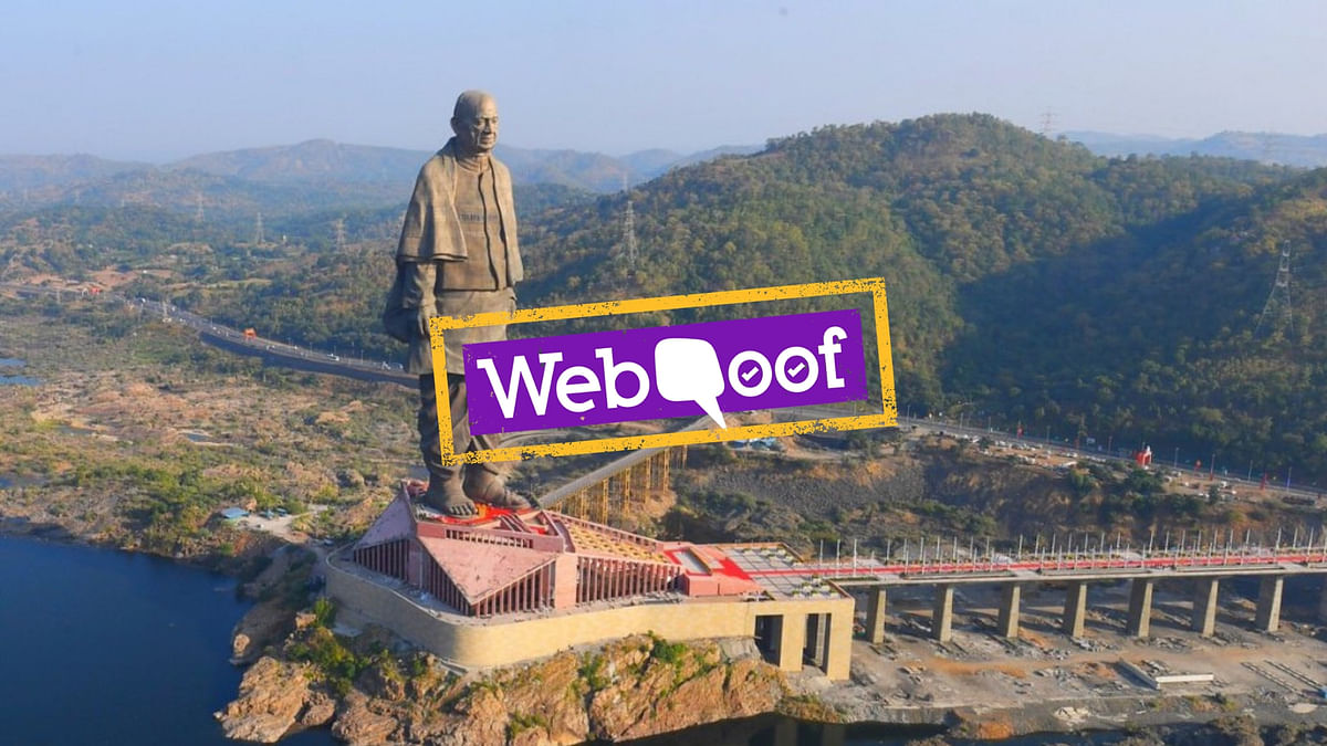 Did PSUs Pay Rs 2,500 Crore for Construction of Statue of Unity?