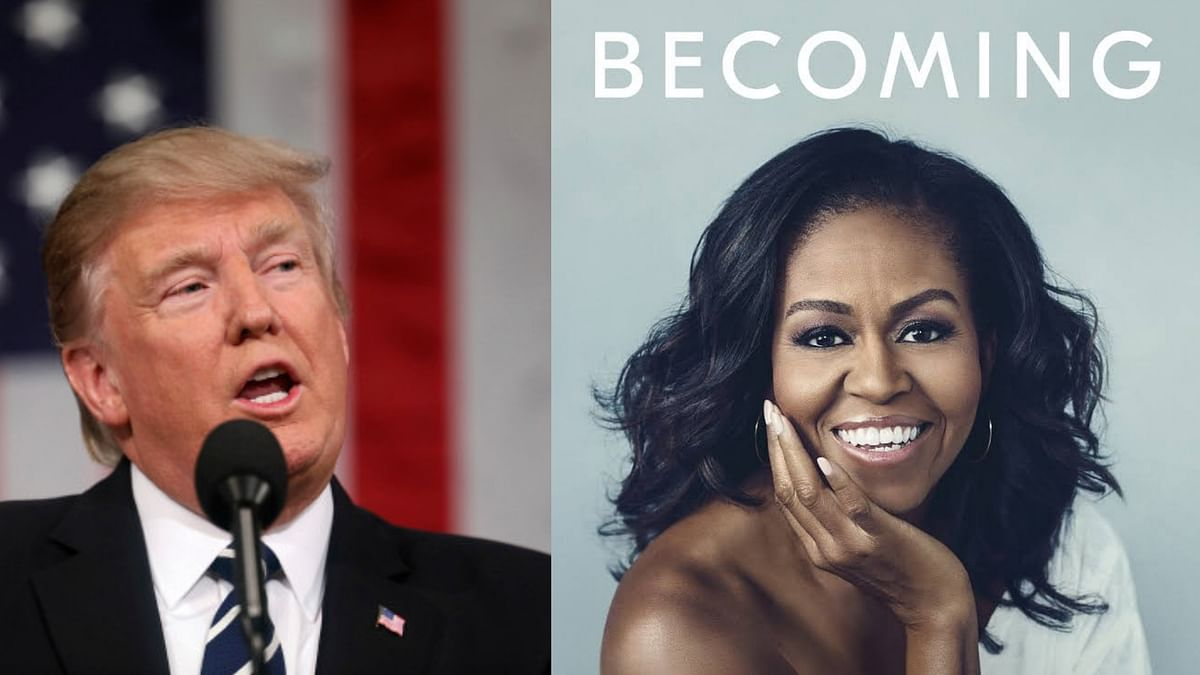 "Former first lady Michelle Obama blasts President Donald Trump in her new book, writing how she reacted in shock the night she learned he would replace her husband in the Oval Office and tried to ""block it all out."""