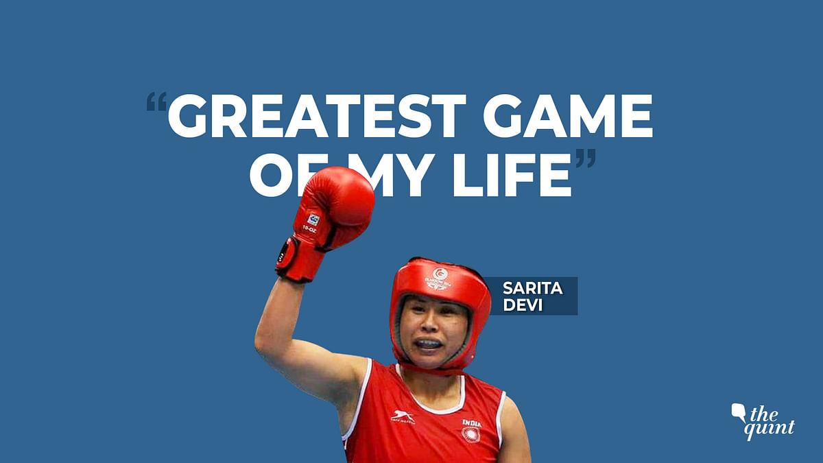 India's veteran boxer Sarita Devi speaks about her 2006 World Championship gold.