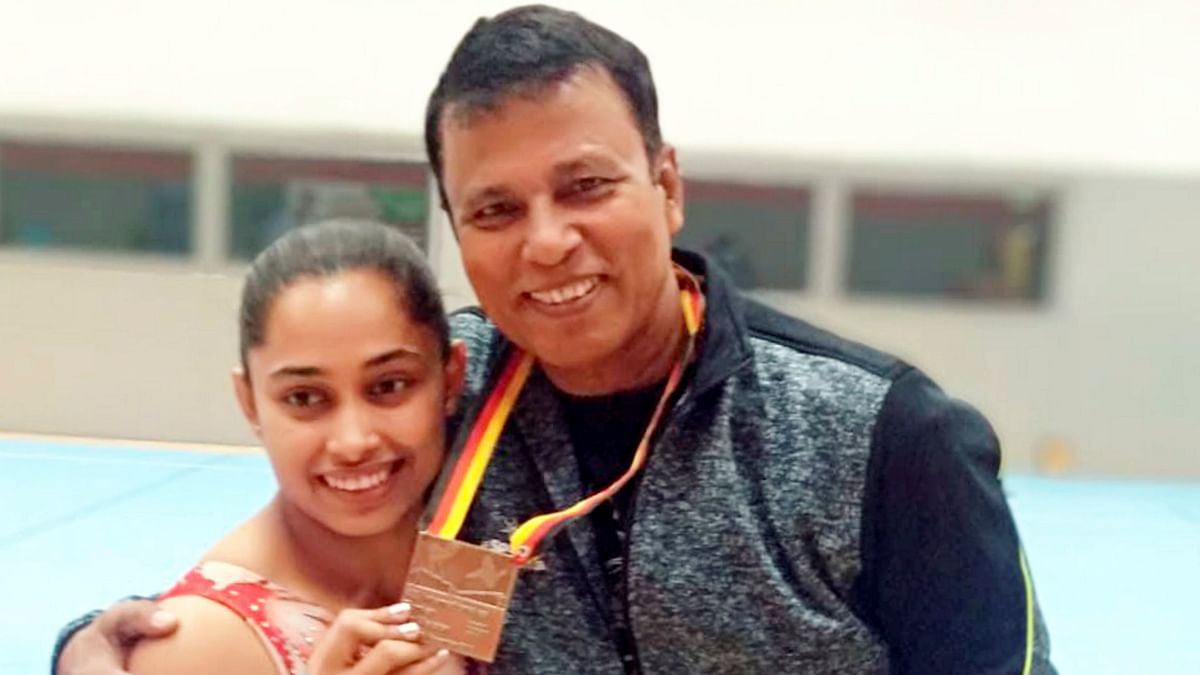 Dipa Karmakar won a bronze medal at the Artistic Gymnastics World Cup in Cottbus, Germany.