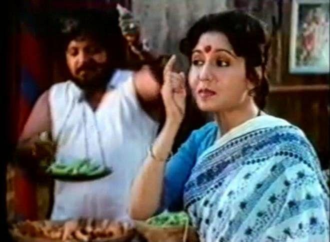 Kavita Chaudhary as Lalita <i>ji </i>in Alyque Padamsee's iconic Surf ad.