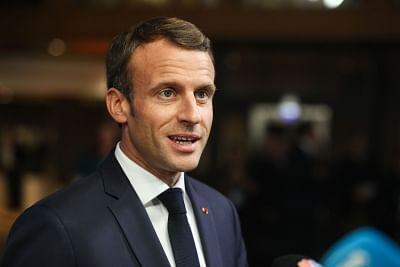 French President Emmanuel Macron. (Xinhua/Zheng Huansong/IANS)