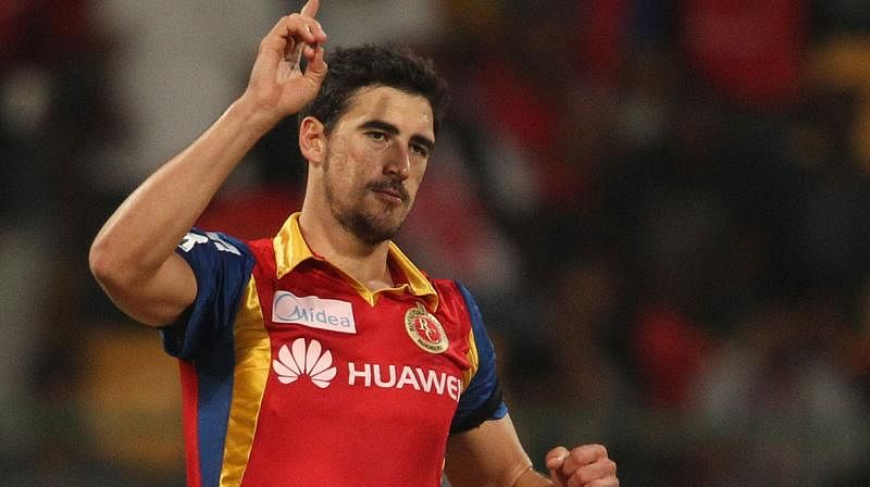Starc has missed the last three editions of the IPL, last turning out for RCB in 2015
