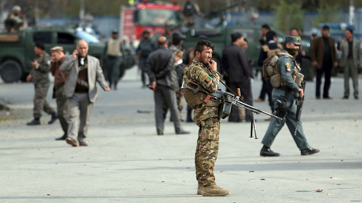 Afghan officials confirmed that at least four people have been killed in the bombing.