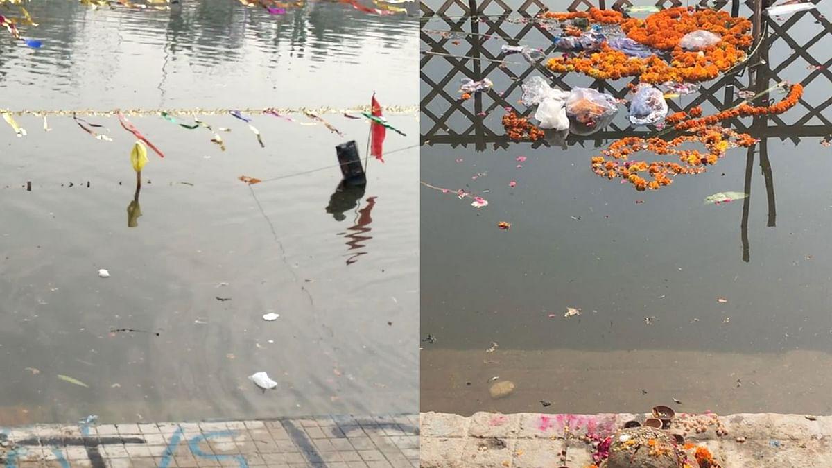 As Chhath Puja Devotees Choke River Yamuna, Residents Suffer