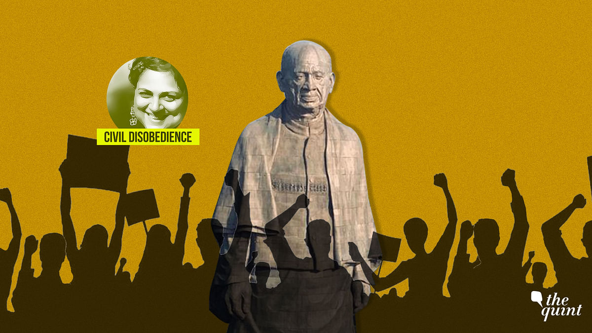 Look at the Statue of Unity – So Bright, It Has No Shadow?