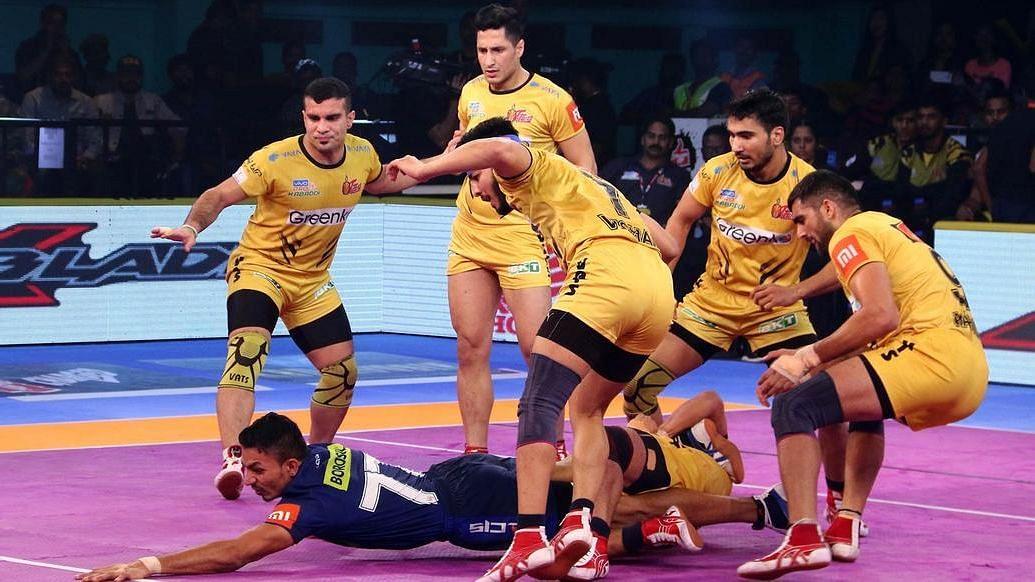 Pro Kabaddi: Telugu Titans Clinch Thriller Versus Haryana Steelers