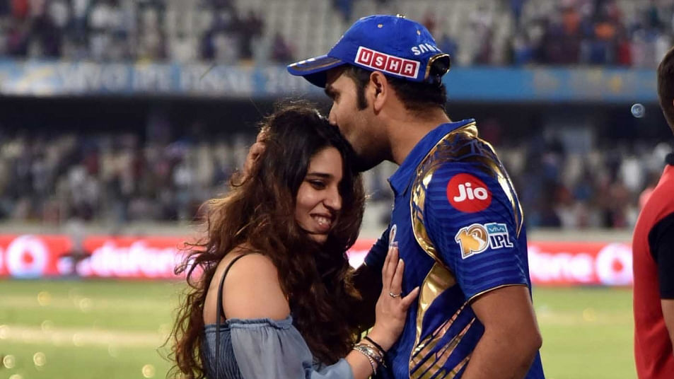Rohit Sharma and his wife Ritika Sajdeh welcome their first child, a baby girl.