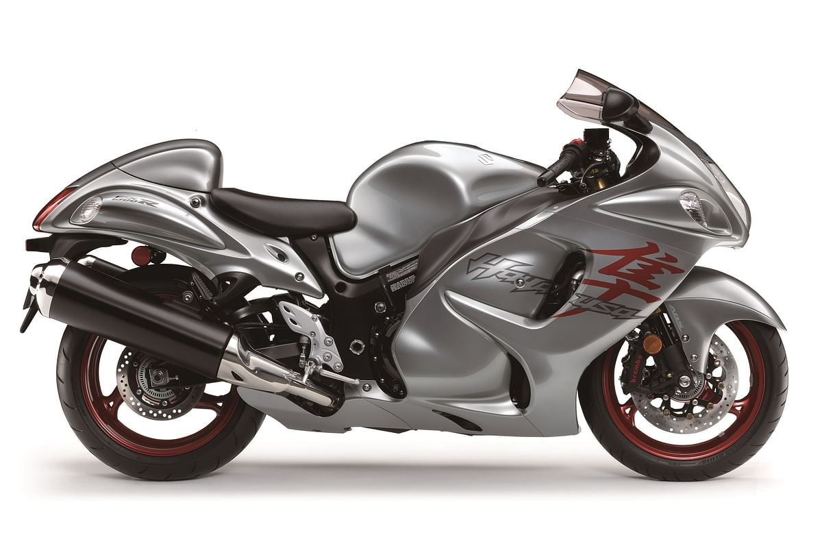 The new Hayabusa offers a 1,340 cc engine.