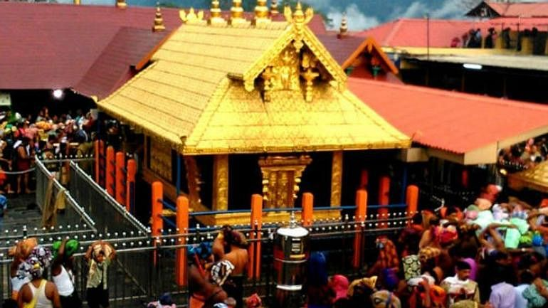 5-judge bench of the Apex court ruled in favour of allowing entry of women of menstrual agein kerala's sabarimala temple
