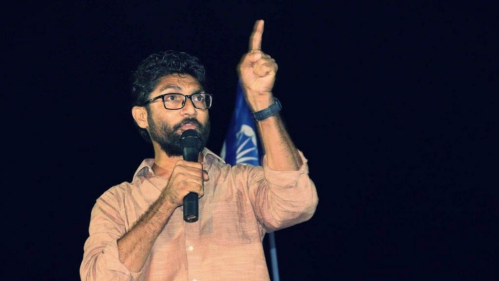File image of Gujarat MLA and Dalit leader Jignesh Mevani.