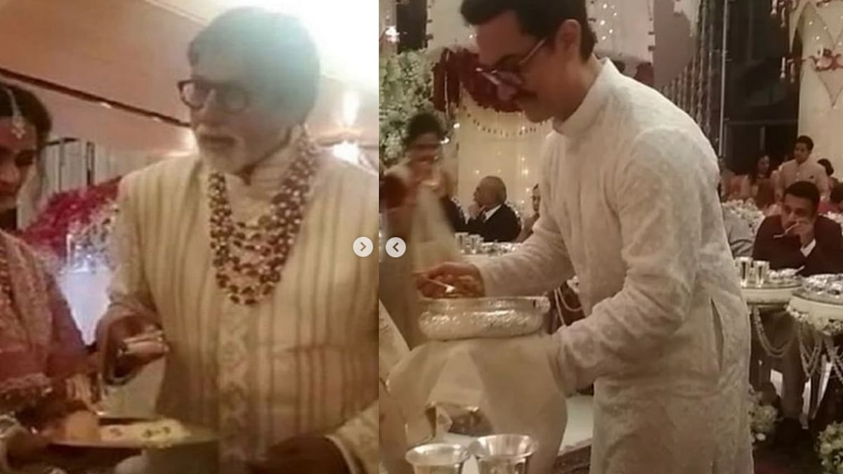 Abhishek Explains Why Amitabh, Aamir Served Food at Ambani Wedding
