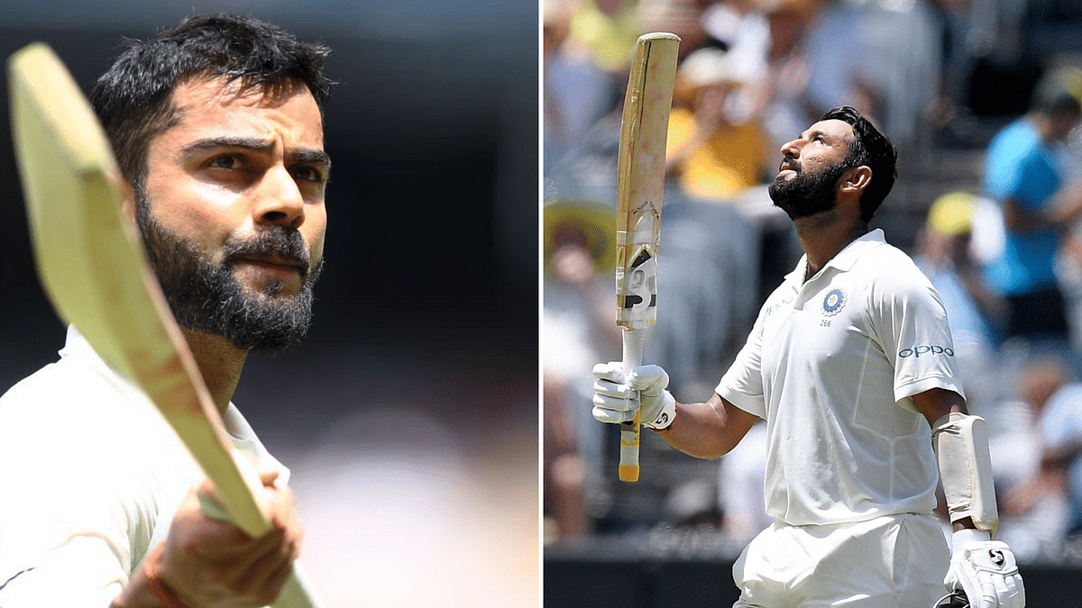 In Stats, MCG Test Day 2: Pujara's Patient Grind, Kohli's Away Joy