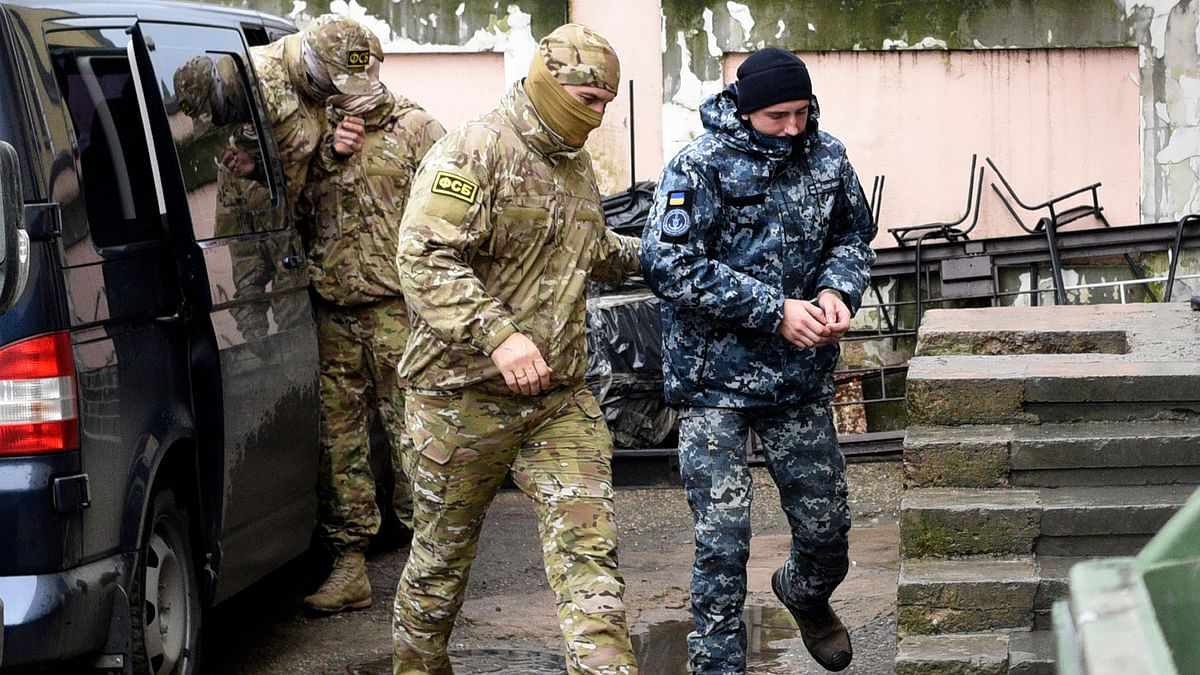 File image of a Russian intelligence agency (FSB) officer. Image used for representational purposes.