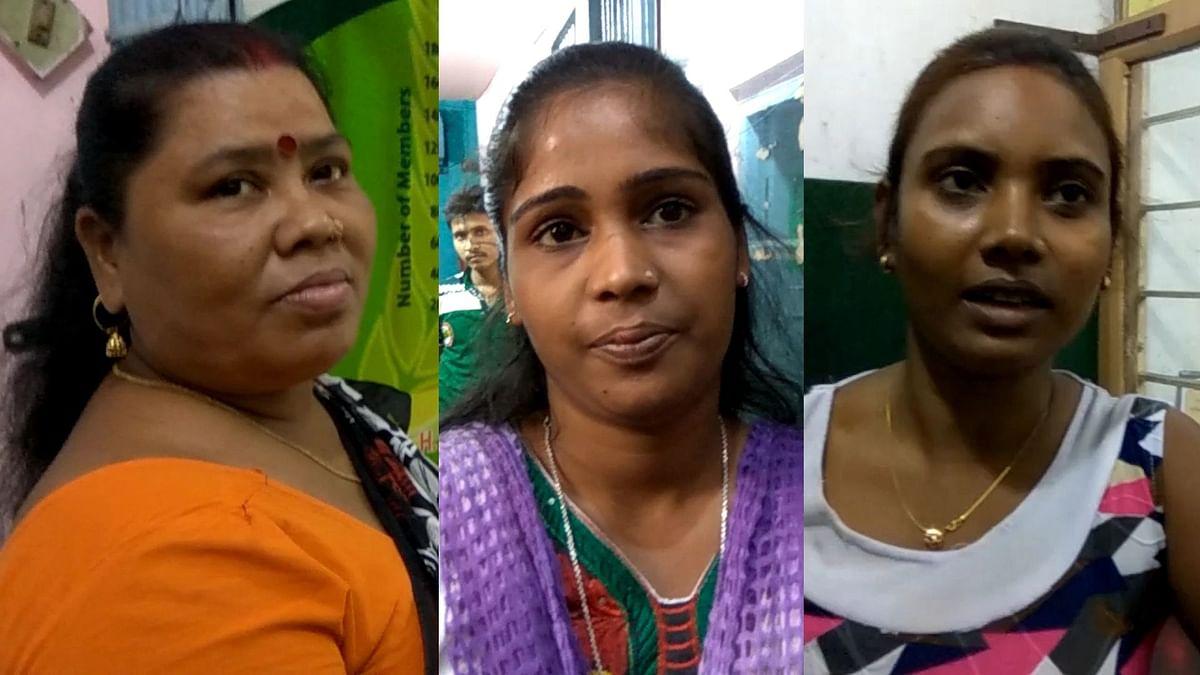 Sex workers in Sonagachi, Kolkata