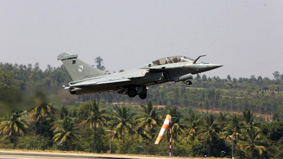 File image of the French Dassault Rafale during rehearsals for Aero India 2015.