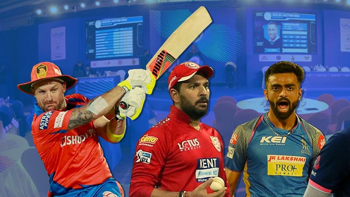 IPL Auction 2019: Eight Teams Buy 60 Players for Rs 1,06,80,00,000