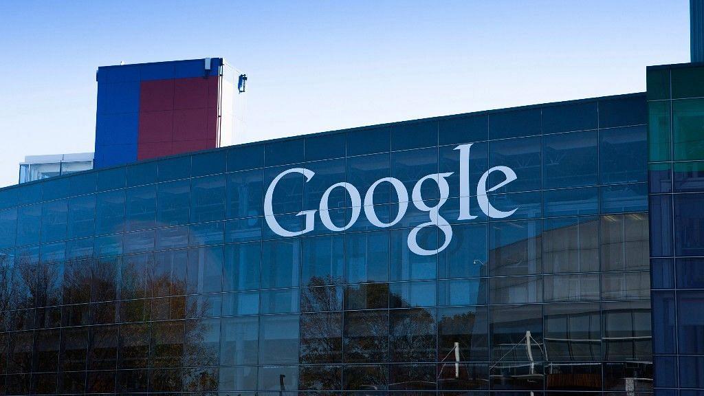 Google headquarters in California.