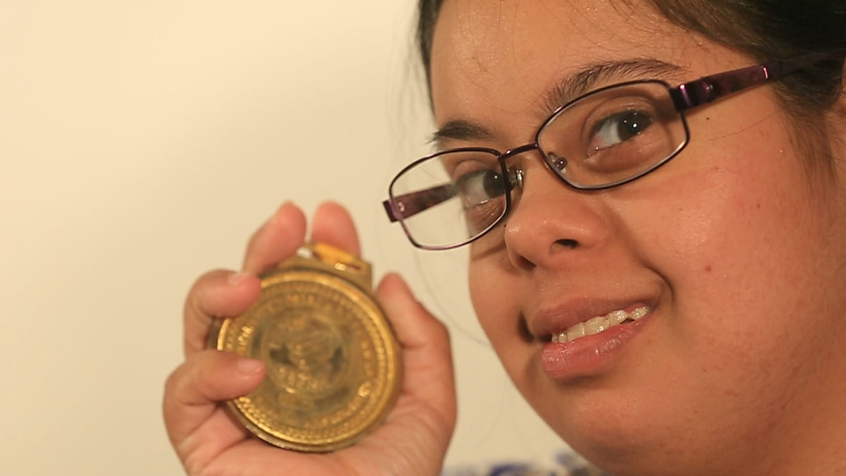 Sneha won the gold at Paralympics in 2016.