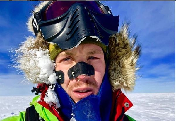 Colin O'Brady took 54 days to complete his journey.