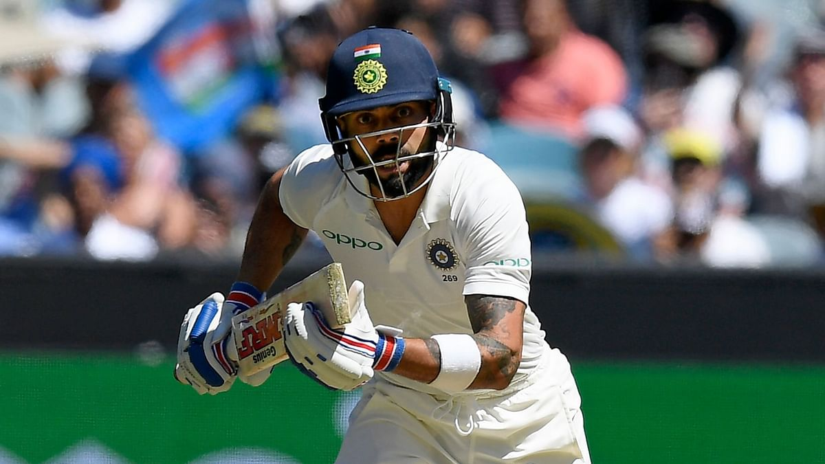 Captain Virat Kohli Thursday bettered Rahul Dravid's long-standing record of most runs scored by an Indian in a calendar year overseas.