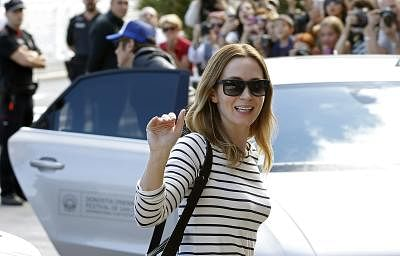 British actress Emily Blunt. (File Photo: EFE/Javier Etxezarreta/IANS