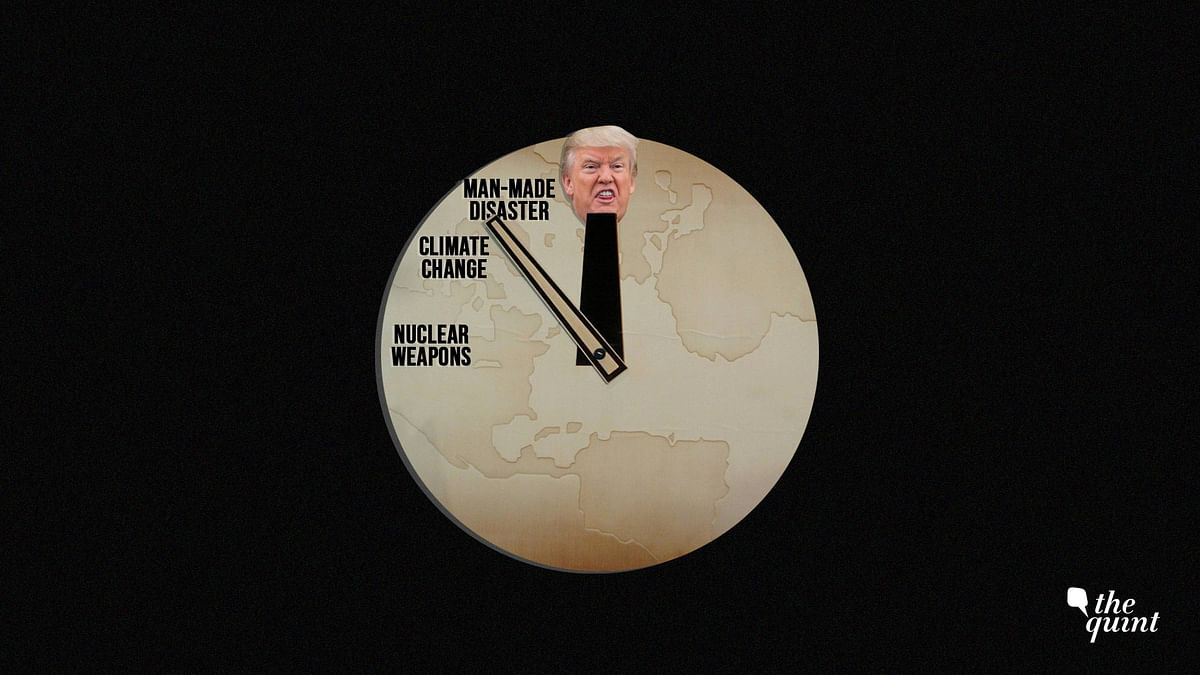 Donald Trump's questionable nuclear policies have also brought us closer to 'doomsday'.