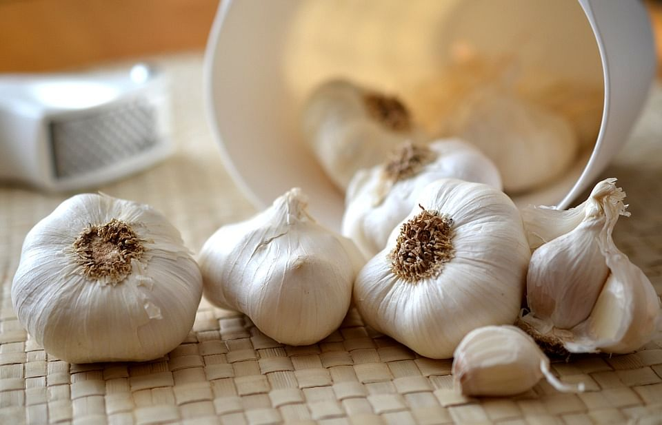 Begin the day with a pod or two of raw garlic.