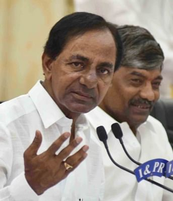 TRS working to form front without BJP, Congress
