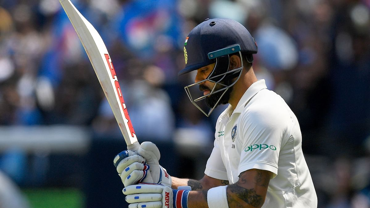 Virat Kohli got out on 82 on Day 2 of the Boxing Day Test.