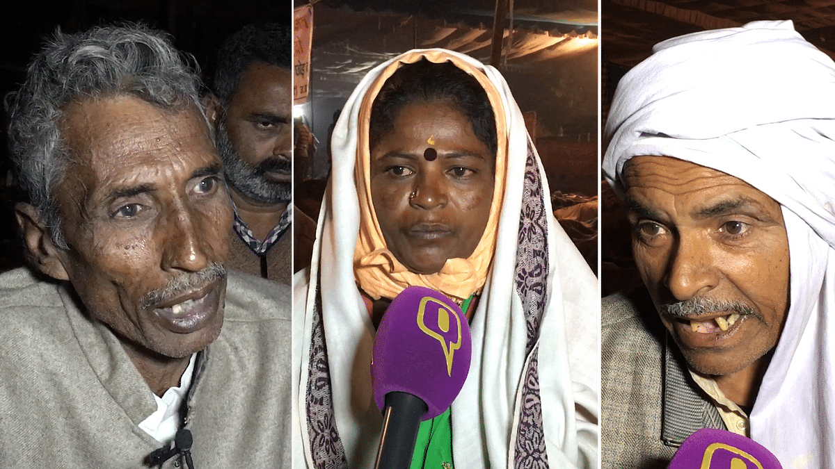 Distressed Farmers Narrate Their Woes at Kisan Mukti March
