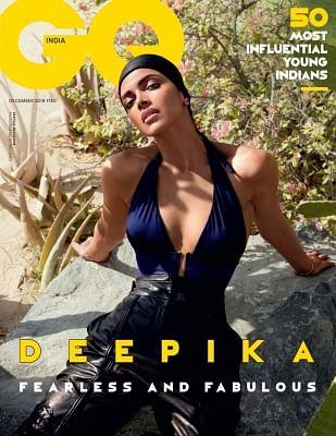 Actress Deepika Padukone for GQ India