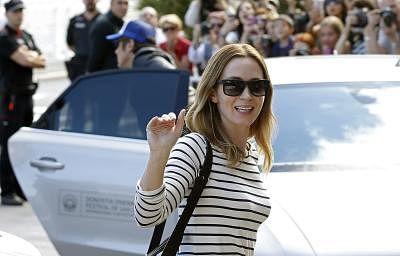 Actress Emily Blunt. (File Photo: EFE/Javier Etxezarreta/IANS)